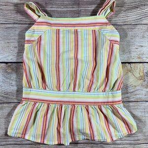 Gymboree sleeveless stripe top size 5
